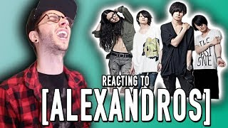 Today I react to the J-rock group known as [Alexandros]! Buy My son...