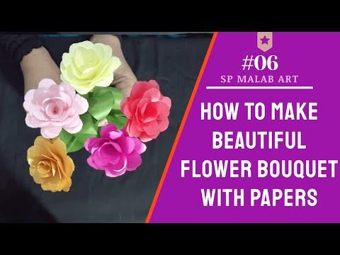 DIY – PAPER FLOWERS BOUQUET – SP MALAB