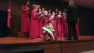 Üsküdar - Ankara Barosu Çok Sesli Korosu Konseri 03.04.2017 Mine Şendan