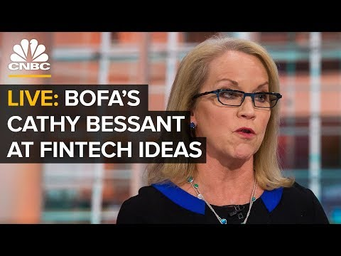 Bank of America's Cathy Bessant at FinTech Ideas — Wednesday, March 27 2019