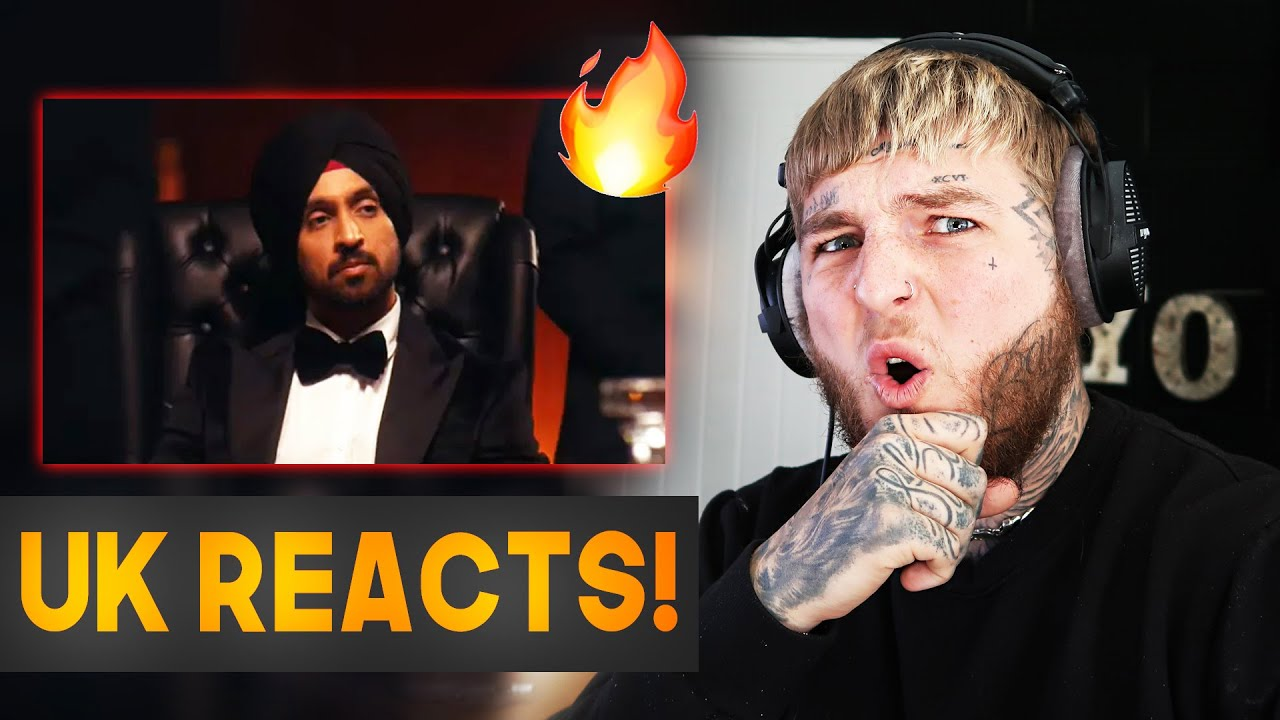 Download UK REACTS To - Diljit Dosanjh - G.O.A.T. (Official Music Video)