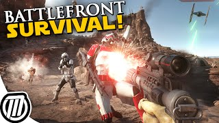Star Wars Battlefront 3 Gameplay: Survival on Tatooine -MOVIE GRAPHICS!!! (PC, 60fps 1080p)