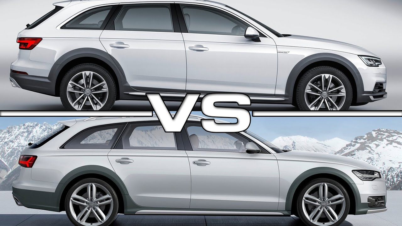 сравнение audi allroad vs volvo cx70