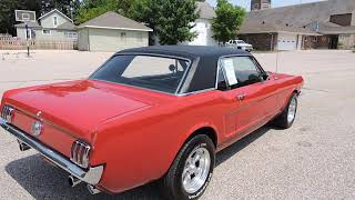 1966 Ford Mustang Red GT for Sale at www coyoteclassics com