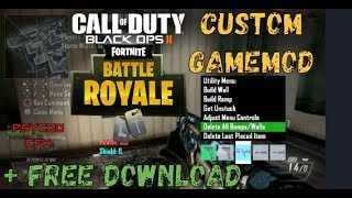 🔵[Bo2/Gsc] Fortnite v1 Beta Custom Gamemod (Build, Air Drops and More ...) + Free Download