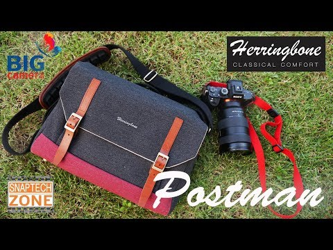 [SnapTech Review EP19] กระเป๋ากล้อง Herringbone Postman Large