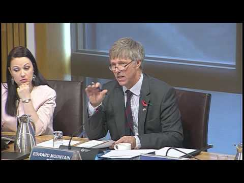 Rural Economy and Connectivity Committe - Scottish Parliament: 9th November 2016