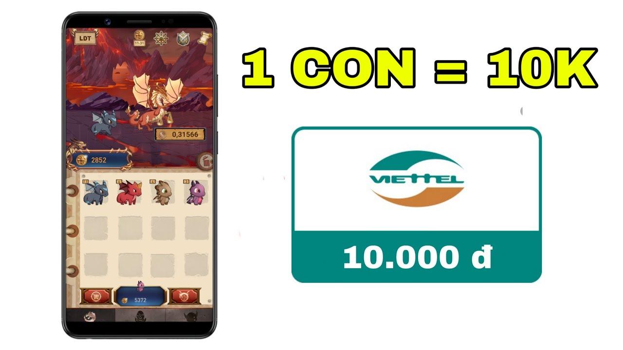 [Hot] Game Nuôi Thú Kiếm Thẻ Cào Cực Ngon | Thẻ Cào Miễn Phí