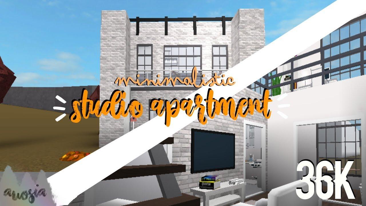Minimalist Studio Apartment Roblox Welcome To Bloxburg