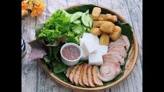 Bún đậu mắm tôm, chả cốm, công thức kinh doanh chuẩn vị || Natha Food