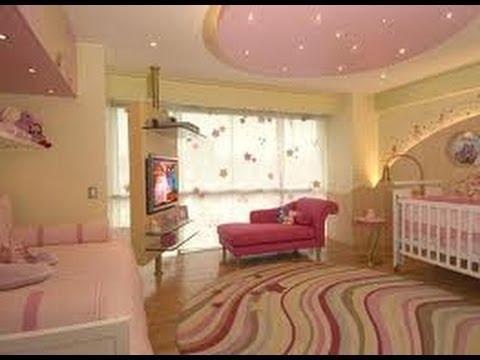 Decoracion de cuartos infantiles para ni as 10 youtube for Decoracion de cuarto de nina