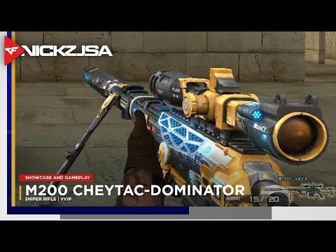 M200 CheyTac-Dominator (VVIP) | CROSSFIRE China