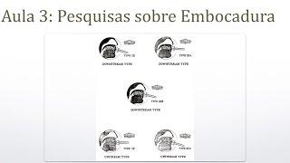 Pesquisas sobre Embocadura - Dicas sobre trompete - Prof. Érico Fonseca