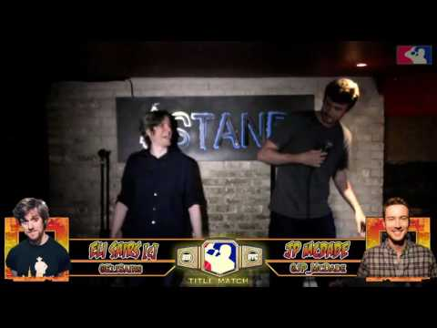 The RoastMasters 7.18.17 Title Match: Eli Sairs C vs. J.P. McDade