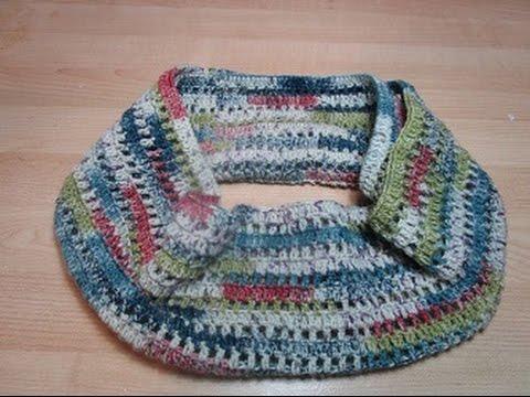 Uncinetto Crochet Girocollo Sciarpa Facile Tutorial Youtube