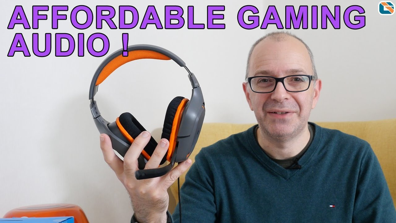 Logitech G231 Prodigy Gaming Headset Review - YouTube fd305135a6