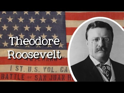 Biography of Theodore Roosevelt for Kids: Meet the American President for Kids - FreeSchool