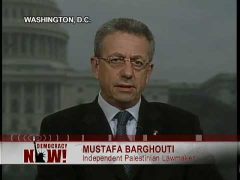 """Mustafa Barghouti: """"Israel Has Completed The Transformation Into An Apartheid State""""  1 of 3"""