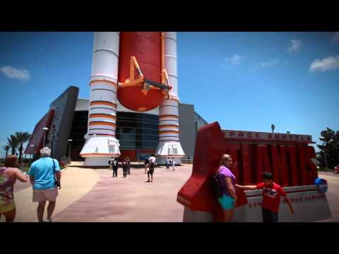 Kennedy Space Center with Transport - Video