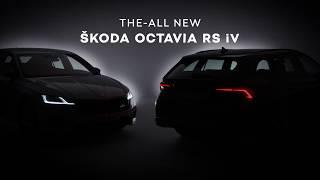 Nova OCTAVIA RS iV: prvi posnetki