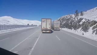 tırcı ortega süper kış manzarası erzurum erzincan yolu 9