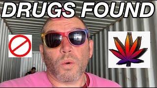 Drugs covered storage floor ABANDONED STORAGE DAILY VLOG 18 #HustleGrindRewind