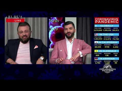 Panarmenian Live With Ara Kazaryan & Mher Baghdasaryan 05.06.20.