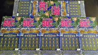 Florida Lottery Scratch Offs - PayDay Friday #17 - $2,000,000 Top Prize $94 Session X the Cash Games