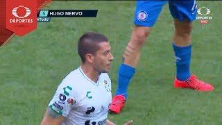 Gol de Hugo Nervo | Cruz Azul 1 - 1 Santos | Clausura 2019 - J7 | Televisa Deportes