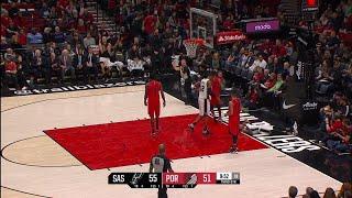 3rd Quarter, One Box Video: Portland Trail Blazers vs. San Antonio Spurs