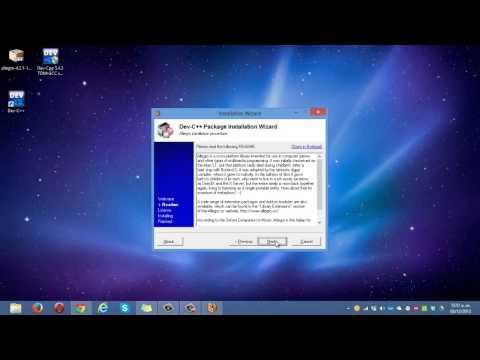 Instalacion de Allegro en Windows 8 (HD)