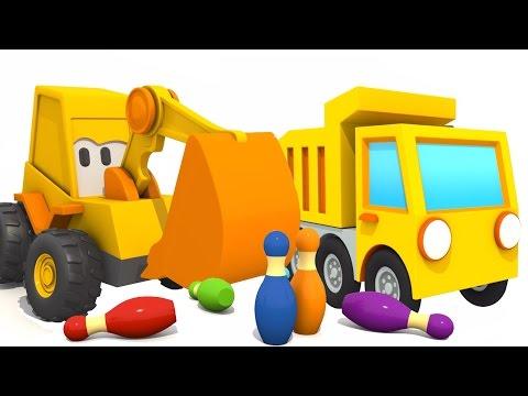 Развивающий 3D мультфильм: Экскаватор Мася и самосвал. Мультики для детей