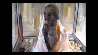 Video of MUMMY OF 500 year old LAMA  found in india