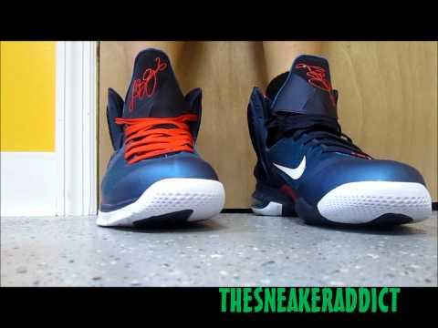 Nike Lebron 9 Griffey Swingman Sneaker Review W/ @DjDelz