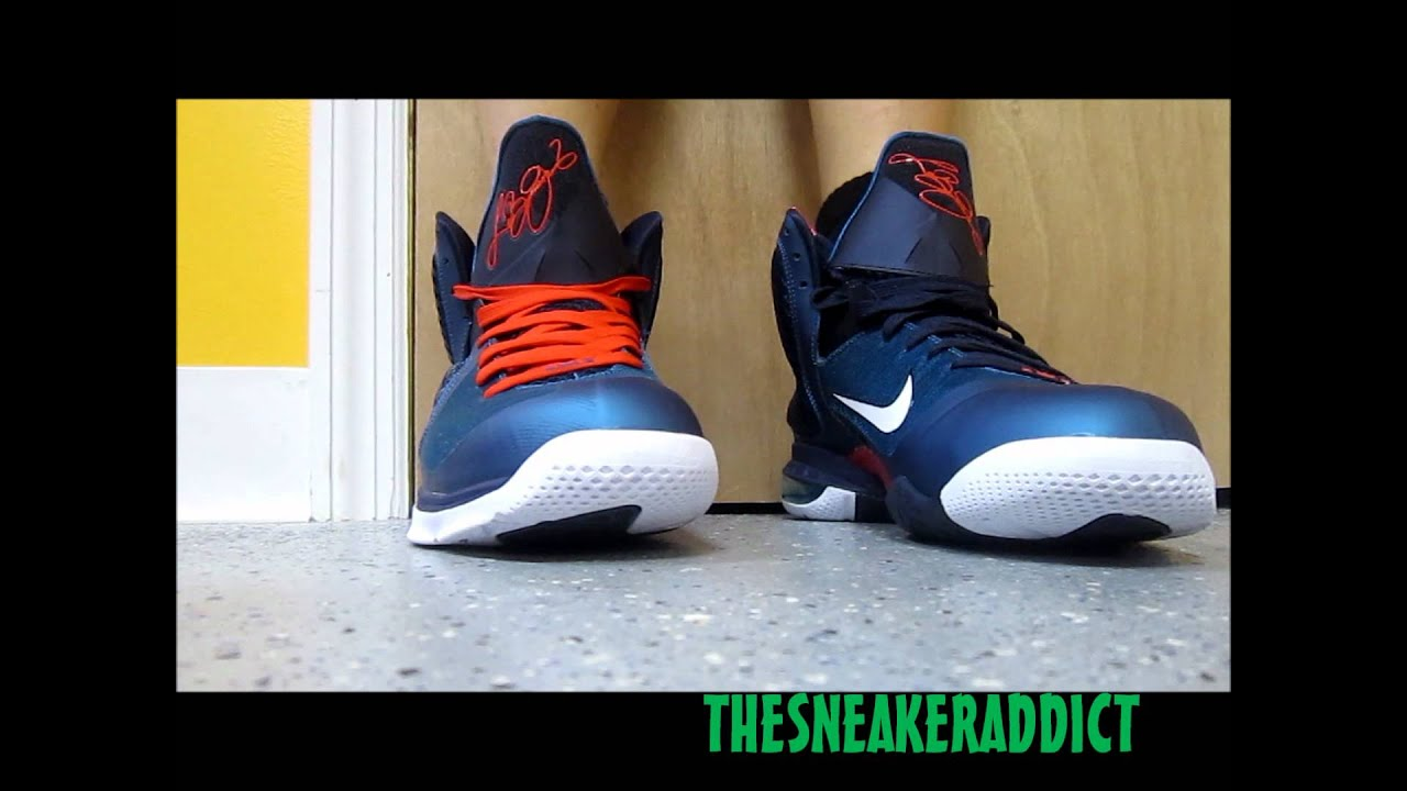 pretty nice fe0c0 23096 Nike Lebron 9 Griffey Swingman Sneaker Review W   DjDelz