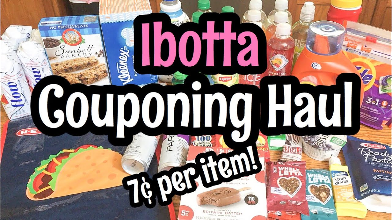 Repeat CHASING IBOTTA BONUSES | COUPONING HAUL | August 2019