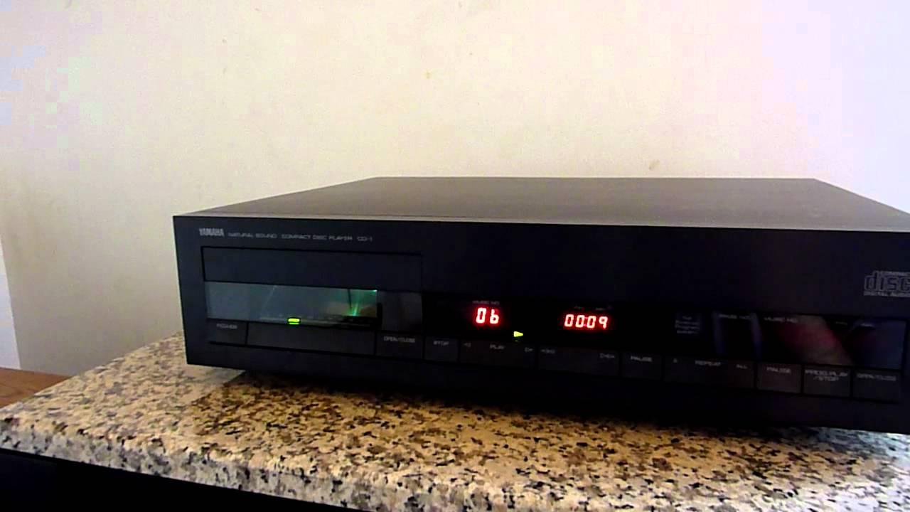 yamaha cd 1 high end player youtube. Black Bedroom Furniture Sets. Home Design Ideas