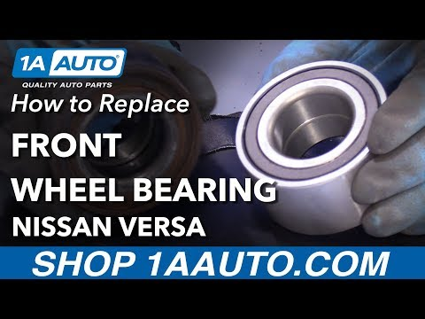 How to Replace Front Wheel Bearing 12-19 Nissan Versa