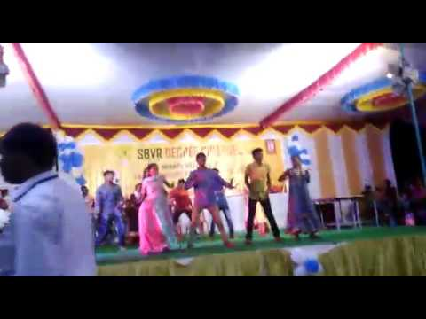 Badvel sbvr college function dance .kalyan and group
