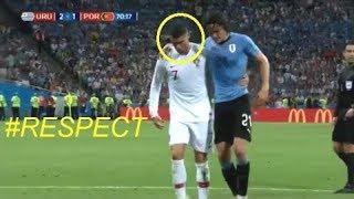 Красивый поступок Криштиану Роналду против Уругвая 2018