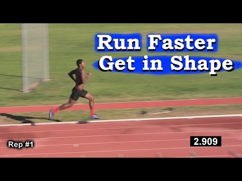 How to Run Faster & get in Shape for Athletes: Any Sport !