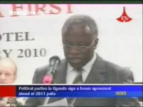 African News - Political parties in Uganda sign a forum agreement ahead of 2011 polls