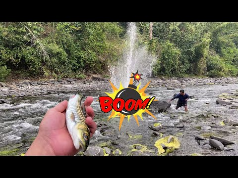 Dynamite Fishing At Dikhu River