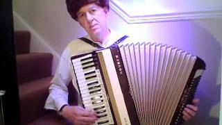 Темная ночь The Night Is Dark Russian Song Hohner Accordion