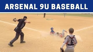 ⚾️ Arsenal vs Rampage | 9U Baseball Highlights