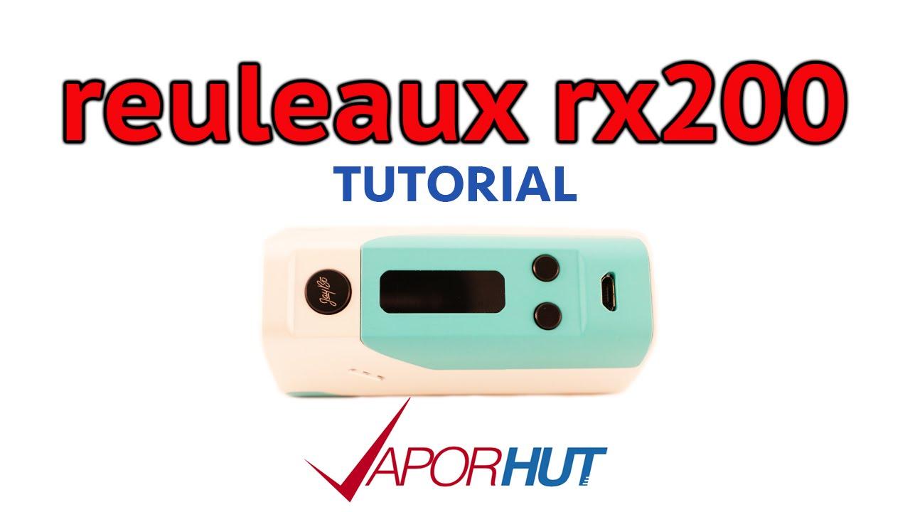 инструкция wismec reuleaux rx200s