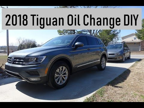 2018 Tiguan | Oil Change DIY | 2018-2019