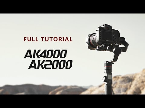 FULL TUTORIAL of AK Series | FeiyuTech Tutorial