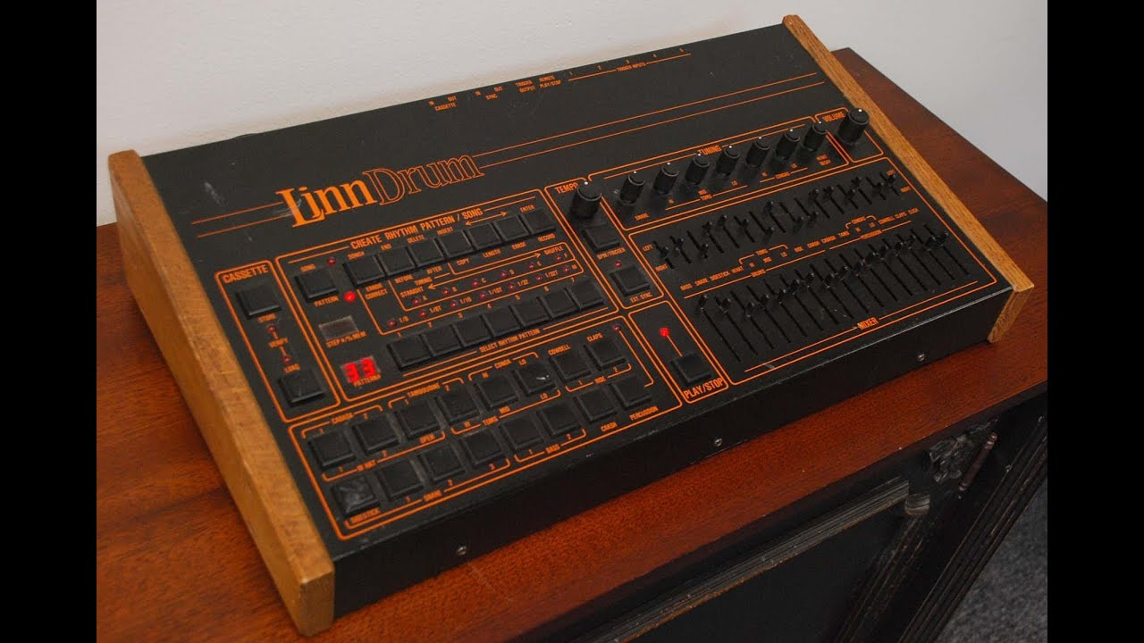 Linn LM-2 LinnDrum Vintage Drum Machine Basic Demo - YouTube