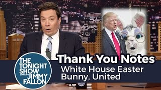 Thank You Notes: White House Easter Bunny, United thumbnail